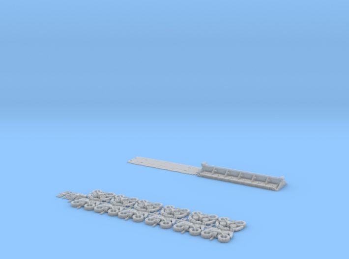 HO/1:87 spmt 6 axles (without ppu) 3d printed