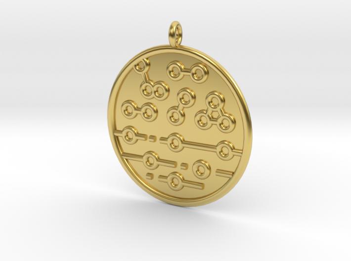 Chemistry Symbol 3d printed