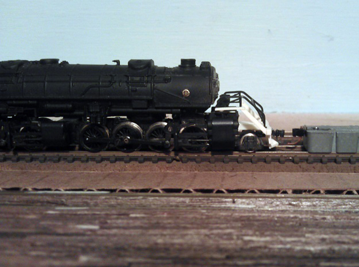 Rowa Y6B 2-8-8-2 Pilot With Z Scale MT Coupling 3d printed Pilot With Z Scale Coupling (Unpainted)