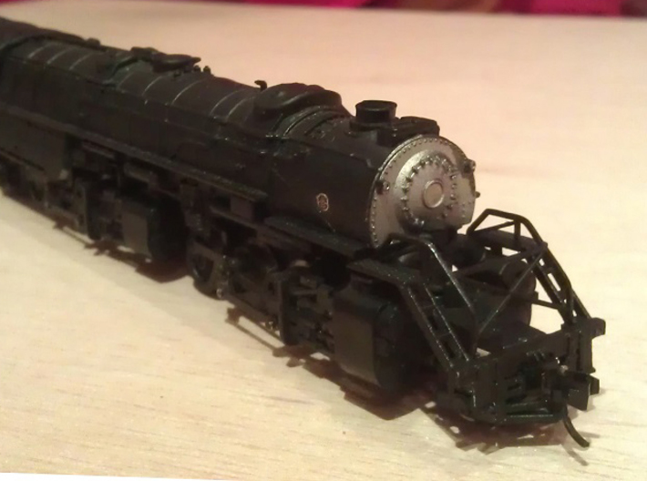 Rowa Y6B 2-8-8-2 Pilot With Z Scale MT Coupling X2 3d printed Pilot with N Scale MT Coupling