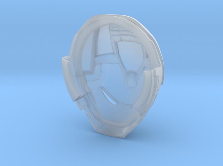 Hulkbuster Head (hi res/with rotation) 3d printed