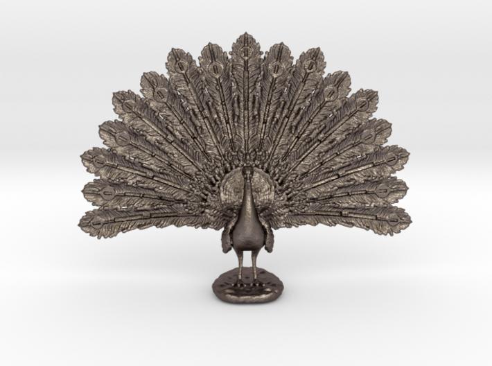 Desktop Peacock 3d printed