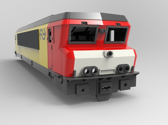NS 1600/1800       Scale 1:32 3d printed