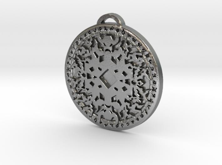 Shaman Class Medallion 3d printed