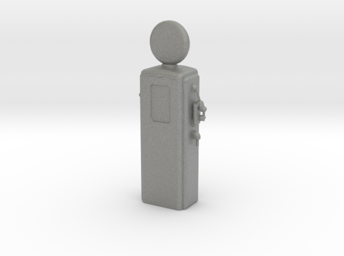 HO Scale Old Gas Pump 3d printed This is a render not a picture