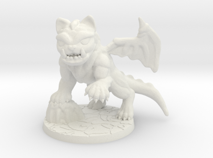 SDE monster cat spawn dragon cat 3d printed