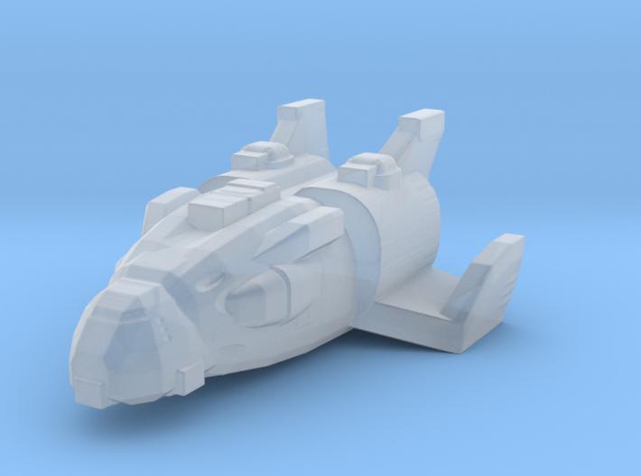 Gundam Zanzibar fleet scale 3d printed