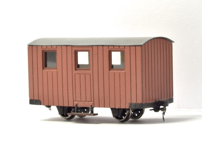 4x 009 FR Quarrymen's carriages Type 3 3d printed