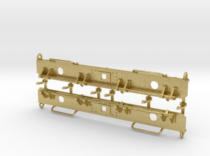 NS kolenwagen GTM bufferbalken met kopklepsluiting 3d printed