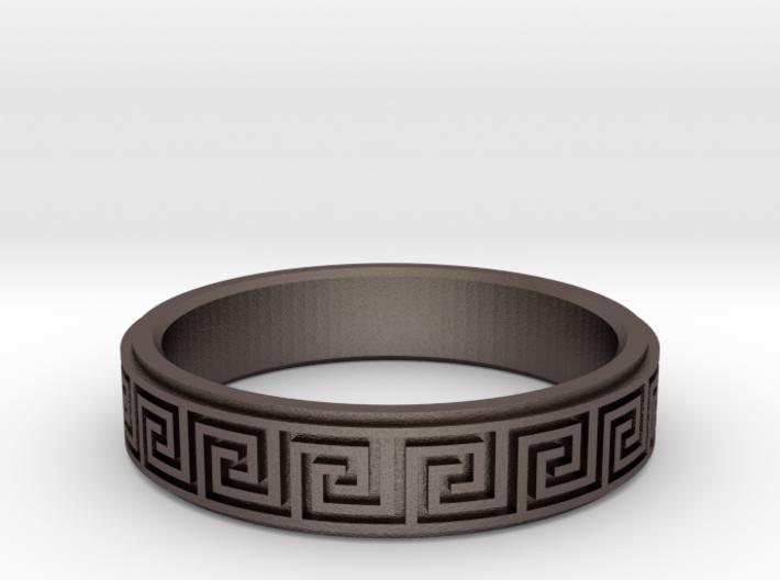 Greek Fieze Pattern Ring 20mm 3d printed