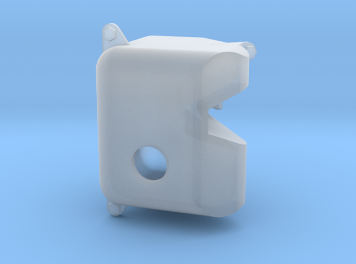 Fillable Windshield Washer tank for RC Car/truck 3d printed