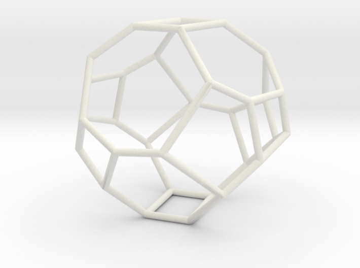 """Irregular"" polyhedron no. 3 3d printed"