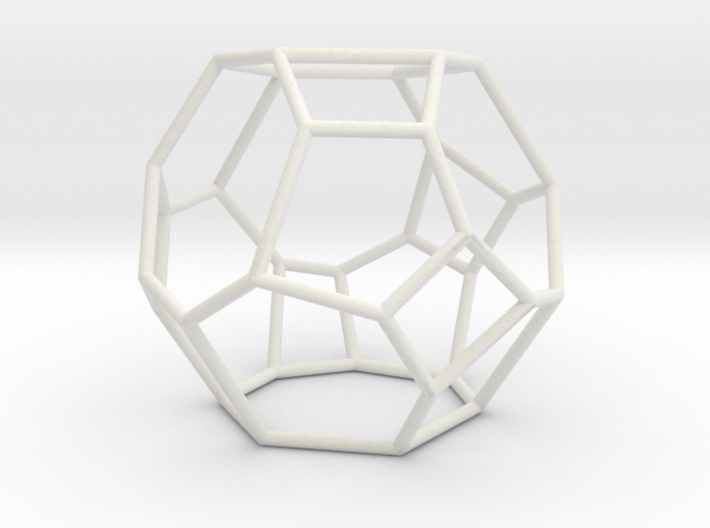 """Irregular"" polyhedron no. 4 3d printed"