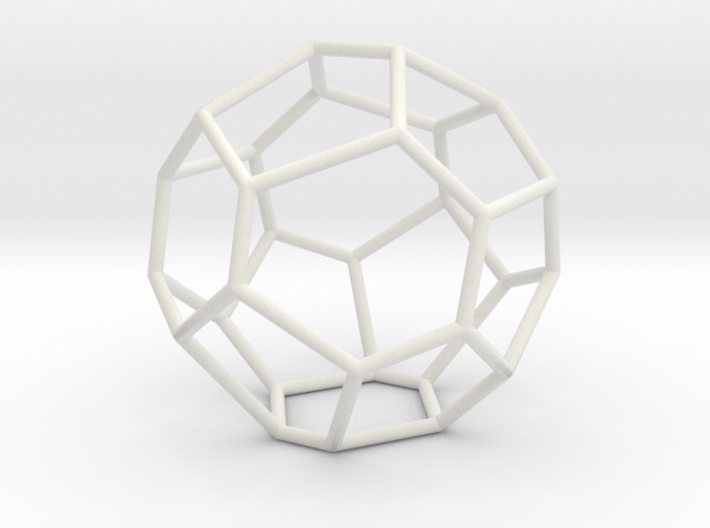 Fullerene with 17 faces, no. 2 3d printed