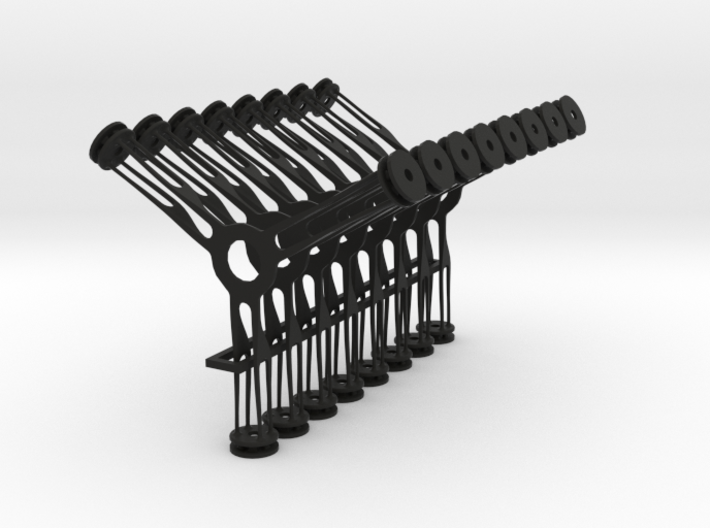 Hudson Lamp Diffuser Stand-offs 3d printed