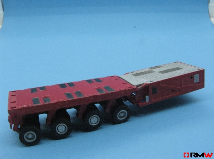 HO/1:87 spmt 4 axles with ppu 3d printed Prototype