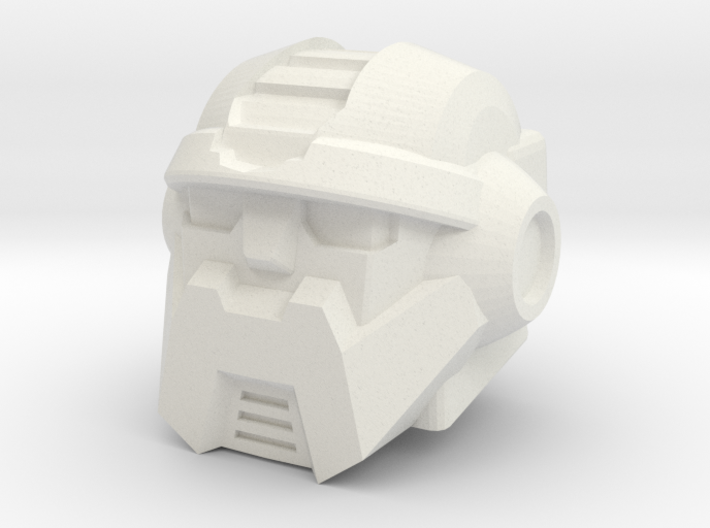 Salvage Head for Combiner Wars Prime 3d printed