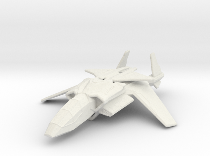 Halo UNSC Falcon Fighter 1:300 3d printed
