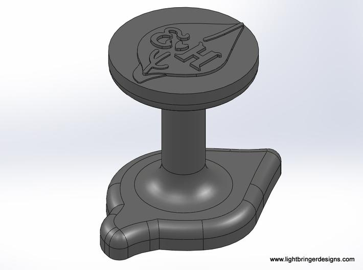 My Wedding Seal 3d printed