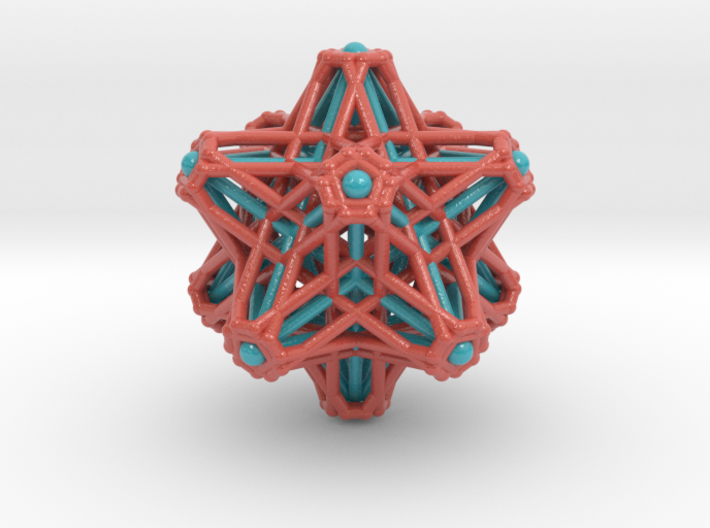 Hedron stars Nest 3d printed