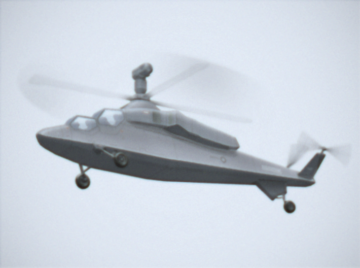 Westland WG.47A Stealth Attack Helicopter 3d printed