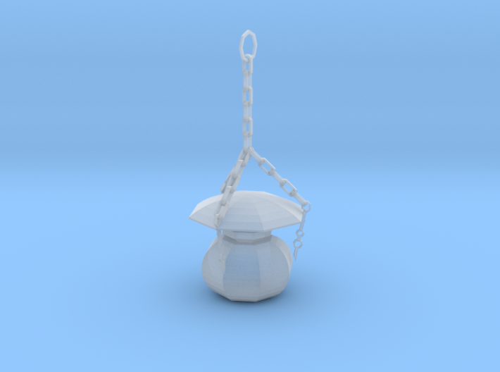 HO Scale old time lamp 3d printed This is a render not a picture