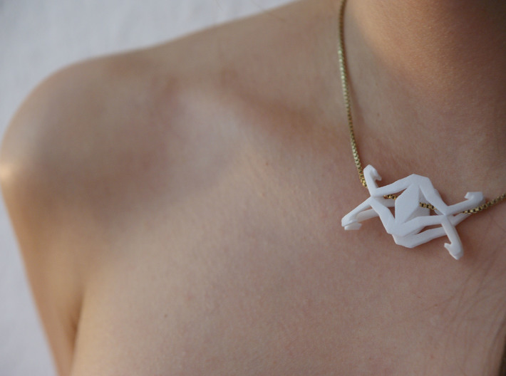 HEAD TO HEAD Melton, Pendant 3d printed