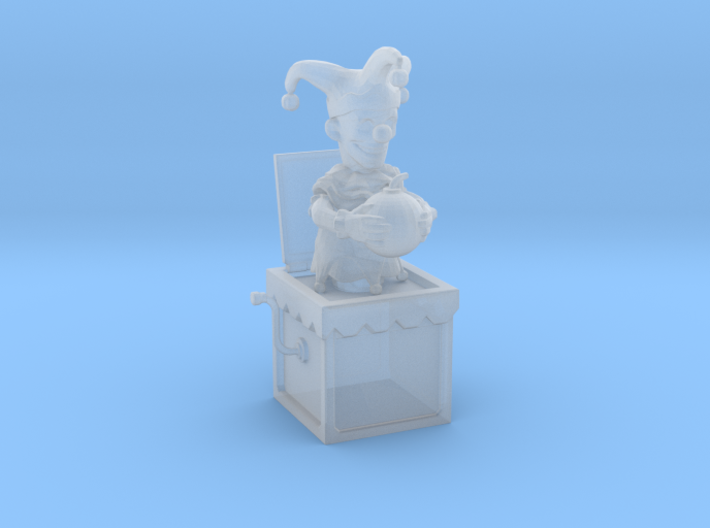 Jack in the box 3d printed