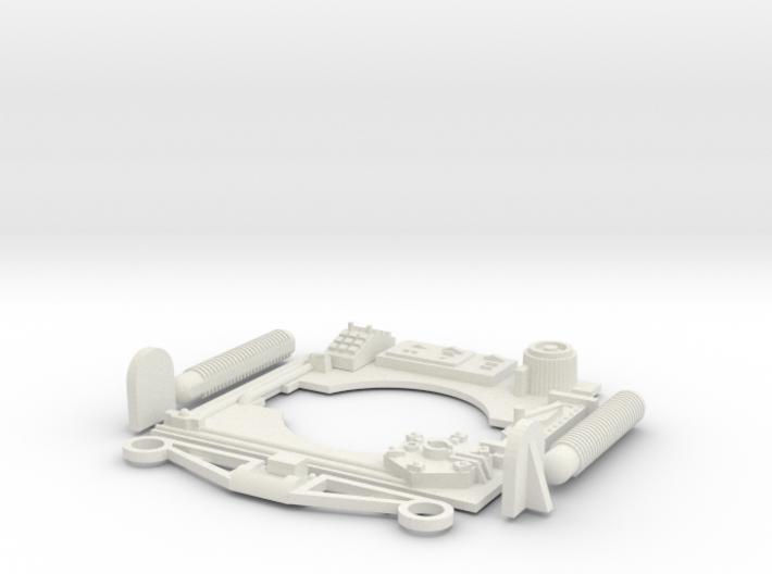 Y-Wing Studio Scale Greeblie Set - Neck Top 3d printed