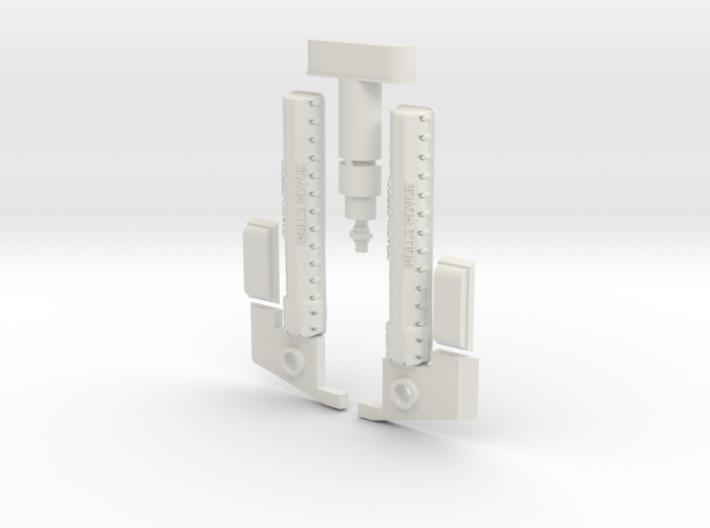 Y-Wing Studio Scale Greeblie Set - Middle Bottom 3d printed