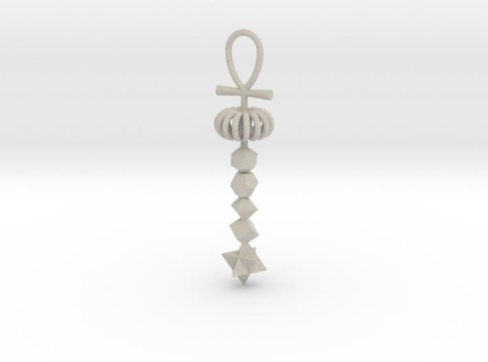 Full_Cosmic_Energy_pendant_Stone20cm 3d printed