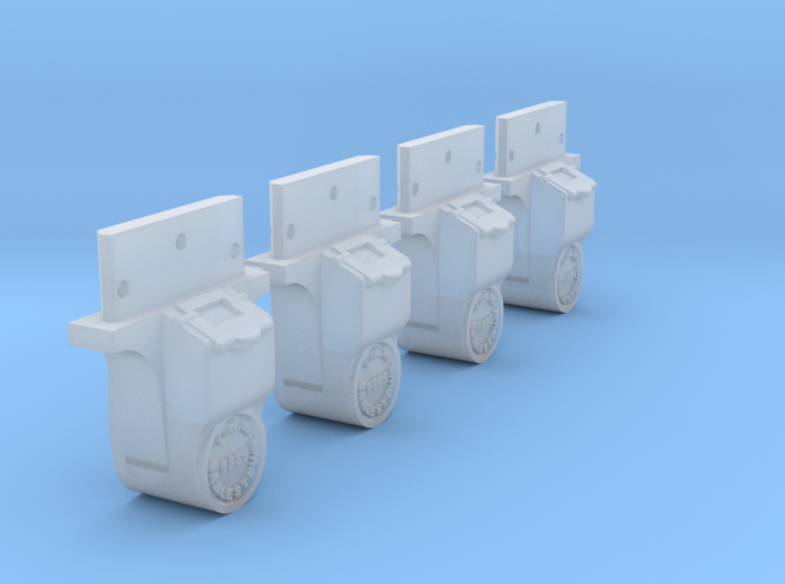 AB05 - LNWR Axlebox for FR wagons (SM32) 3d printed