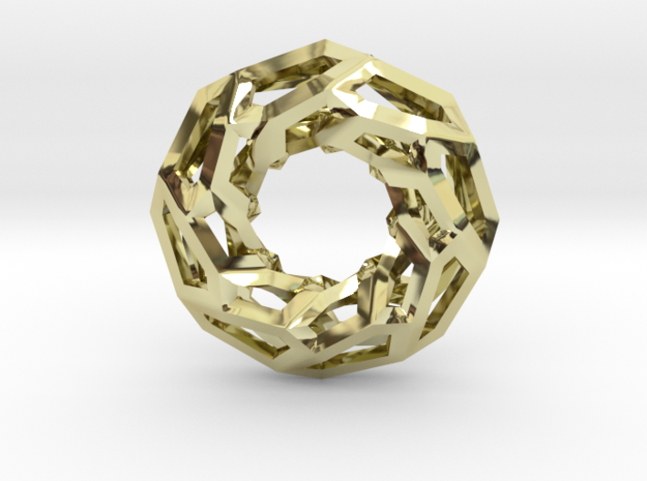STRUCTURA 360 Sharp Edge, Pendant. Sharp Chic 3d printed