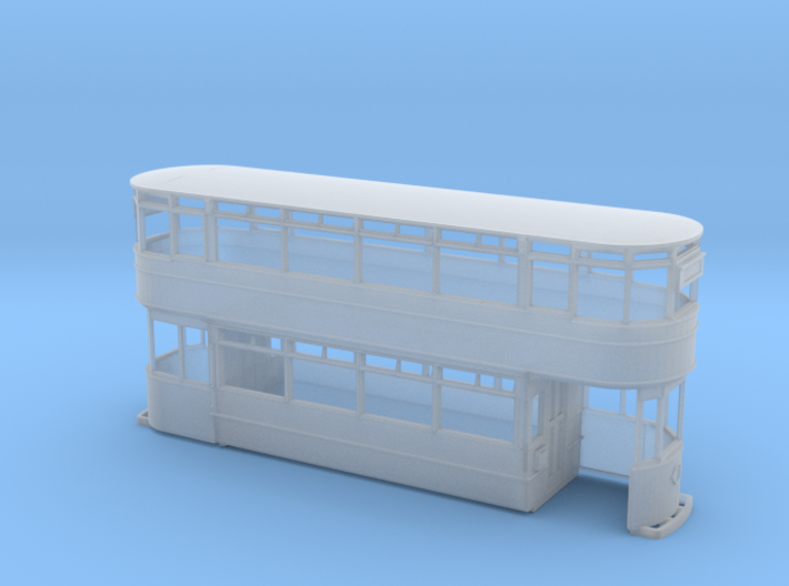 Leeds Hamilton Tram Early) 4mm 3d printed