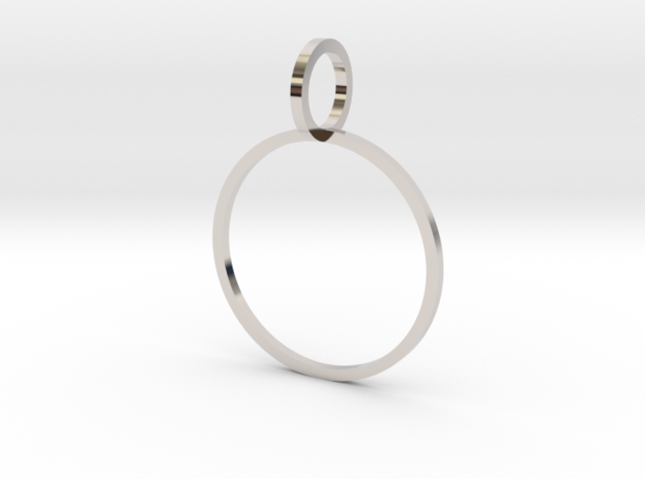 Charm Ring 18.89mm 3d printed