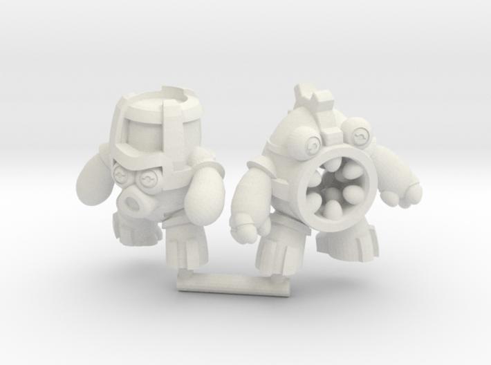 Mecheggs - Hyrdo and Grind 3d printed