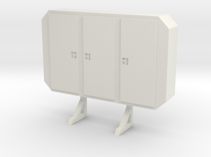 1:24 cabinet headache rack 3d printed