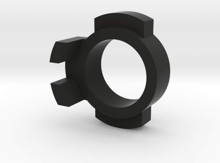 WPL Front Track Adaptor - Fixed version 3d printed