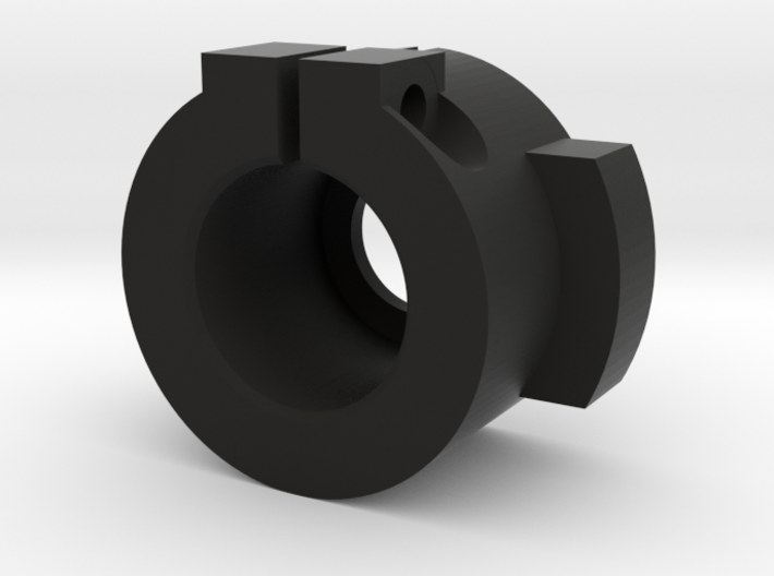WPL Rear Track Adaptor - Fixed version 3d printed