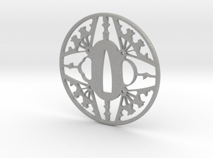 Tsuba-fans-print 3d printed