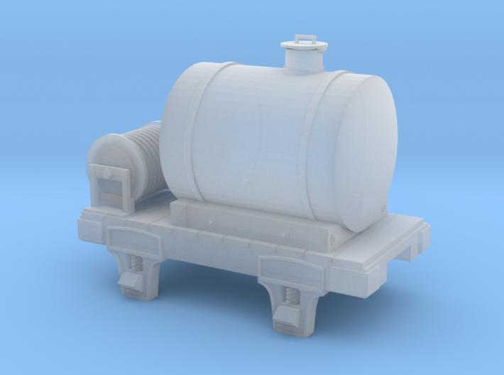 HOn3 water car 3d printed