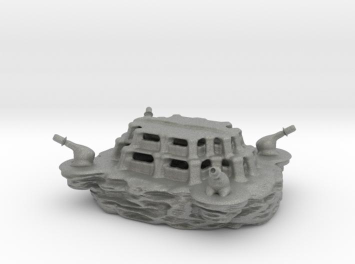 The SLINGSHOT military base! 3d printed