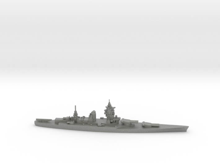 French Dunkerque-Class Battleship 3d printed