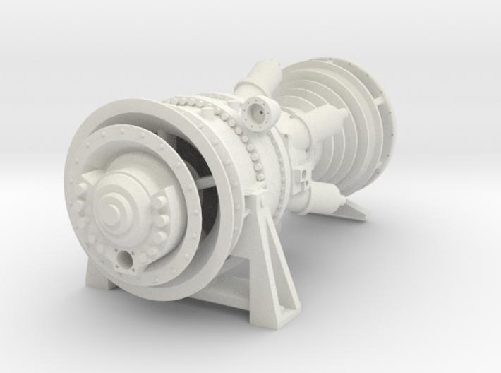 15MW Gas Turbine 3d printed