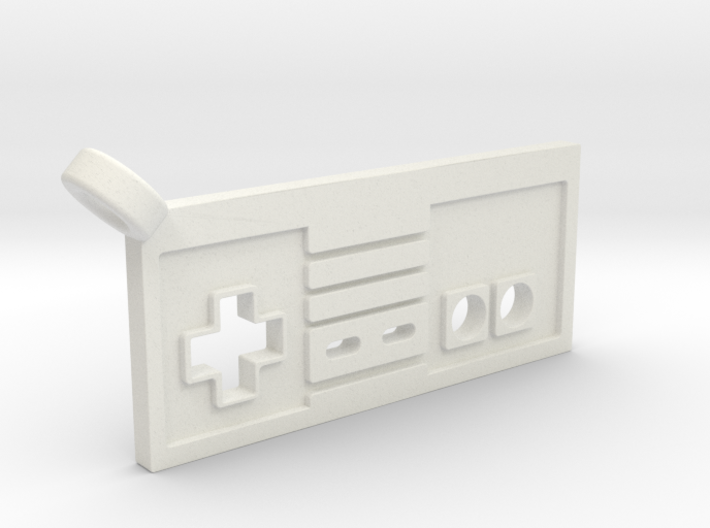 NES Controller Styled Pendant 3d printed