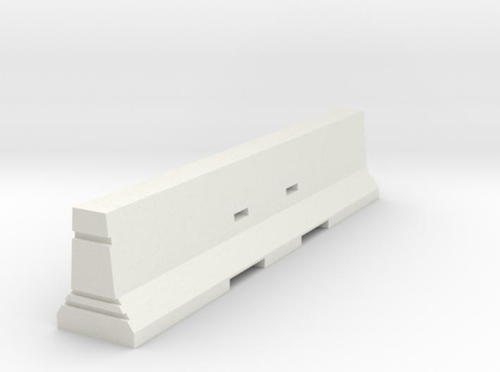 Concrete Barrier 1:50 3d printed