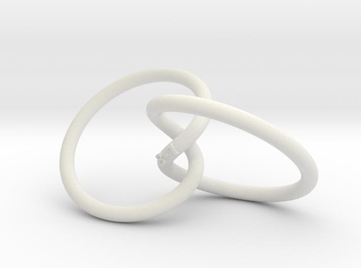 Tritangentless Trefoil Knot 3d printed