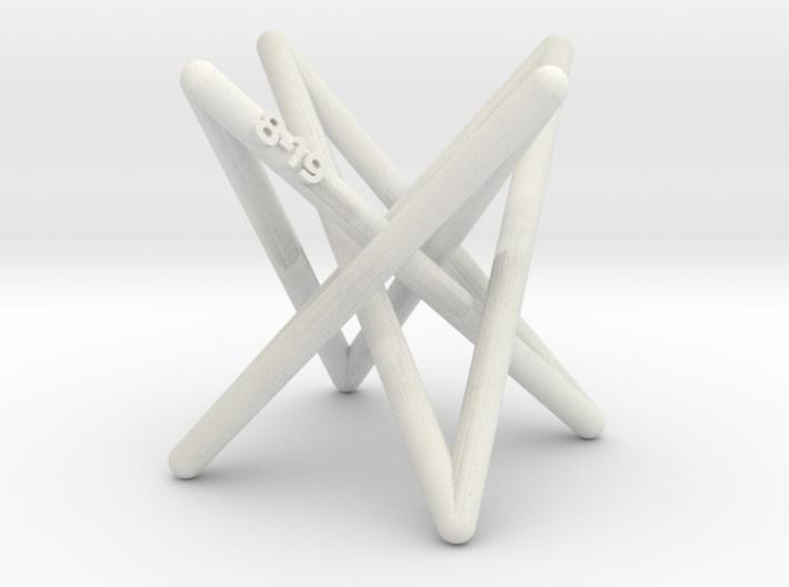 Hyperboloid Stick Knot 3d printed