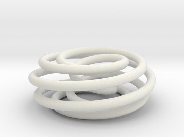 Torus Knot (7,2) 3d printed