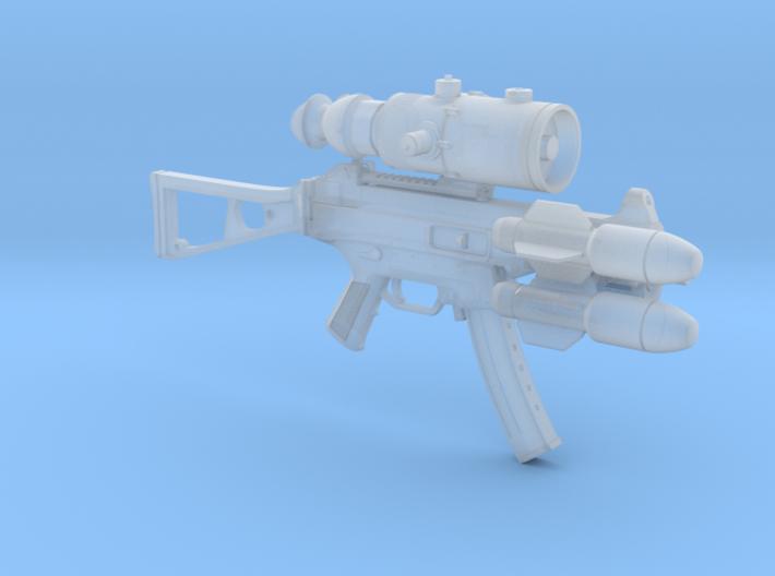 1/10th UMP9Fantastic 3d printed
